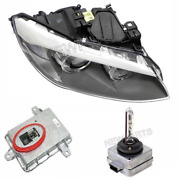 For Bmw E92 328i 11-13 Passenger Right Headlight Assy W/ Bulb And Control Unit Kit