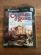 Castle And Ruins Rolemaster I.c.e. Iron Crown Sourcebook D And D Dungeons Dragons