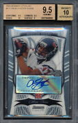 2009 Bowman Sterling Autograph /599 Arian Foster Rookie Graded Bgs 9.5 10 904
