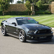 Project 6gr Five 20x10 Satin Graphite Concave Wheels For S197 Mustang Gt V6