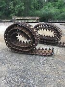 M4 Steel Track For High Speed Tractor Or Sherman Tank 1 Pair Used Wood Tiger
