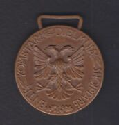 1931,albania. Albanian Sport Kingdom 3 Class Medal In Track And Field Events. R4