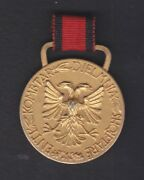1933,albania. Albanian Sport Kingdom 1 Class Medal In Track And Field Events. R4