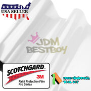 Ppf Genuine 3m Scotchgard Pro Series Gloss Clear Paint Protection Film Bra
