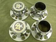 Chevrolet Truck 4x4 Center Caps 6 Lug Hubcaps 1970`s 1980`s With Bolts