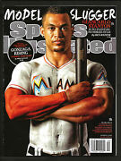 2015 Sports Illustrated Giancarlo Stanton  1st Covei  Mint  Newstand Issue