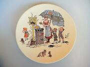 Sarreguemines Apple Fritters Story Plate U And C Utzschneider And Co. Froment