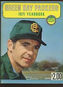 1971 Nfl Football Green Bay Packers Yearbook Ex+