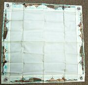 Rare Antique 1893 Worlds Fair Scarf Or Large Hankie Hanky. Columbia Expo