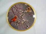 Lenox Spring Glory From Birds Of The Garden Coll Numbered And Signed Vgc