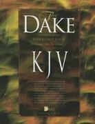Dake's Annotated Reference Bible Kjv Black Bonded Leather Brand New