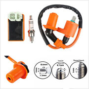 Racing Scooter Atv Professional Ignition Coil Spark Plug Cdi For Gy6 50cc-150c