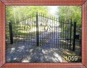 Built In The Usa Driveway Gate 11and039 Or 12and039 Wd Inc Post Pkg Yard Home Security