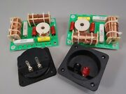 3 Way Crossover Pair High Power 1000w Rms 8 Ohm 12 Db And Square Terminal Cups