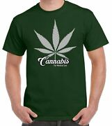 Cannabis For Medical Use Leaf Men's T-shirt