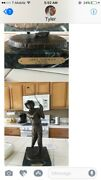 Collectible Greg Norman Signed Golfing Statue