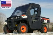 Full Enclosure For Bobcat 3400 - Hard Windshield, Roof, Doors, And Rear Window