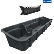 Tyger For 2015-21 Ford F150 17-20 Sd Crew Cab Rear Underseat Storage Cargo Box