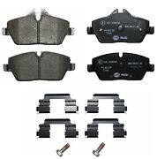 For Mini 07-15 Front Brake Pad Set With Screws Includes Clips Pagid 355014431