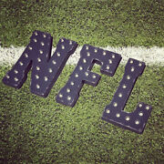 Nfl Marquee Letters Football Team Mancave Man Cave Light Up Sports Game Sign