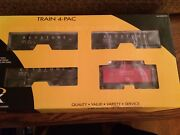 K-line By Lionel 21583 Keystone Coal And Coke Hopper And Caboose 4 Pack New In Box