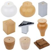 1 Or 4 Wooden Furniture Replacement Legs Beds Cabinet Settees Sofas Feet Pine