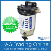 S2313 Marine Water Separator Boat Fuel Filter Kit - Head/element/clear Bowl Trap