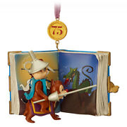 Disney Store Chip 'n Dale Legacy Limited Release Sketchbook Ornament 75th Ann.