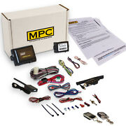 Complete 2-way Lcd Remote Start Kit W/keyless Entry For 2003-2006 Toyota Camry