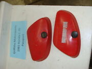 1981 81 82 Honda Passport C70 Scooter Moped Deluxe Red Right Left Side Covers Oe