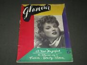 1939 April Glamour Magazine - Premier Issue - Ann Sheridan Cover - O 9458