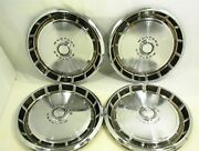 1971 1972 1973 Ford Mustang Hubcaps 14 Set Of 4 Wheel Covers