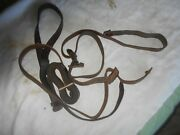 Yugoslavian M48 M48a M44 1924 K98 Mauser Rifle Leather Sling W Beltkeeper And Stud