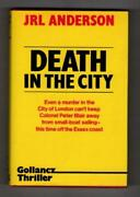 Gollancz Thriller Death In The City By J.r.l. Anderson Publisherand039s File Copy