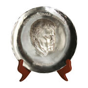 Wendell August Forge John F. Kennedy 1917-1963 Hand Made 1/2 Kilo Sterling 8 3/4