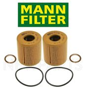 Set Of Two Oil Filters And Drain Plug Gaskets For Mini Cooper R55 R56 R57 R60 R61