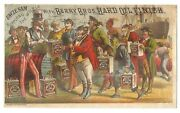 Berry Bros. Hard Oil Finish Trade Card-uncle Sam-detroit Mich.-free Us Ship