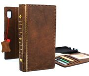 Genuine Leather Case For Iphone Xs Max Wallet Soft Handmade Cover Bible Book Id