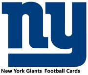 You Pick Your Cards - New York Giants Team- Football Card Selection