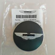 Aston Martin Wheel Centre Badge Light Anthracite With Black Wings 1 Pcs