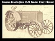 Emerson Brantingham 12-20 Aa Manual For Tractor Service Tuning And Repair