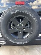 2007-2018 Jeep Wrangler 17 Factory Wheels And 255/75r17 Tires All 5