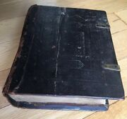 Antique Slavonic Russian Orthodox Bible Psalter 1827-1855
