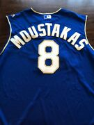 2018 Kc Royals Mike Moustakas Hr Game Worn Used Baseball Jersey Mlb Auth