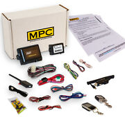 Complete 2 Way Lcd Remote Start/keyless Entry Kit For 1996-1999 Ford Taurus