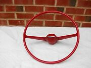 61 62 Buick Special Nos Gm Red Steering Wheel