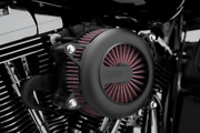 Vance And Hines Black Vo2 Rogue Air Intake Kit Filter Stage 1 Harley Touring Fxst
