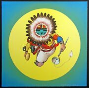Neil David Sr. Our Father The Sun Signed Numbered Kachina, Native American Art