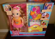 New Baby Alive Darciand039s Dance Class Blonde Hair Doll By Hasbro Interactive Age 3+