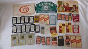 Vtg Assortment Sewing Craft Needles Advertising Lot Of 40 Pieces Trading Cards